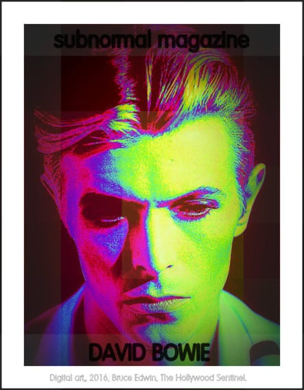 subnormal David Bowie 2016