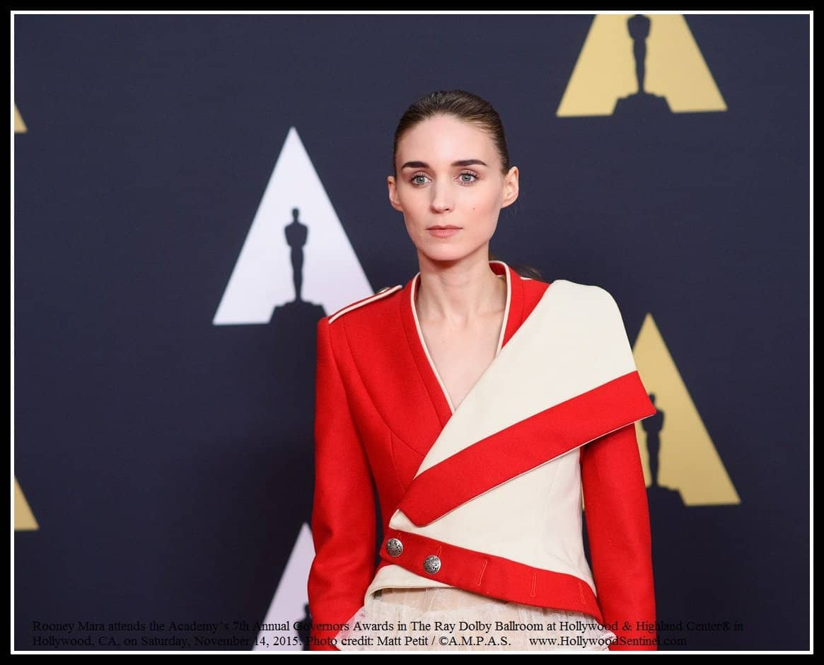 Rooney Mara attends the Academy's 7th Annual Governors Awards in The Ray Dolby Ballroom at Hollywood & Highland Center® in Hollywood, CA, on Saturday, November 14, 2015.