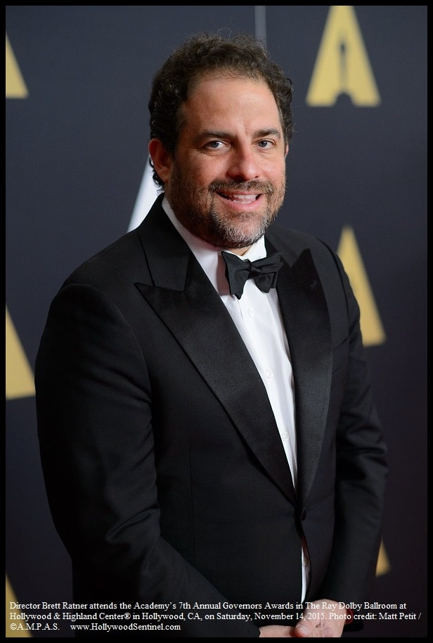 Director Brett Ratner attends the Academy's 7th Annual Governors Awards in The Ray Dolby Ballroom at Hollywood & Highland Center® in Hollywood, CA, on Saturday, November 14, 2015.